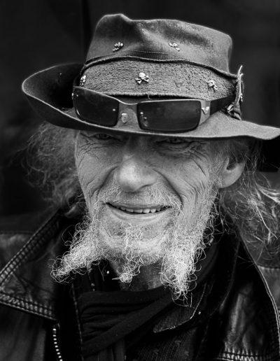 Portret Man met Hondjes